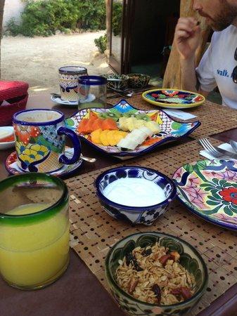Encantada Tulum: Breakfast