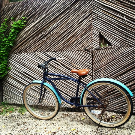 Encantada Tulum: They let me use their bike