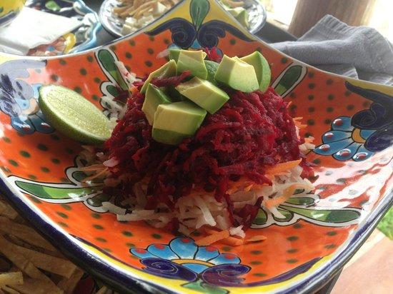 Encantada Tulum: delicious salad