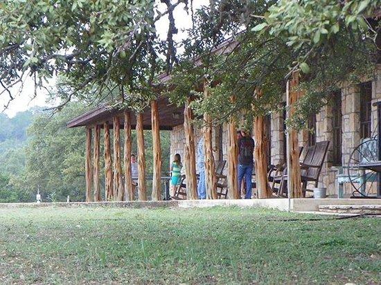 Silver Spur Guest Ranch : Veranda