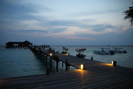 Lankayan Island Dive Resort: Amazing panorama