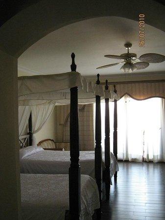 Domina Coral Bay Prestige Hotel : ventilation + climatisation centrale