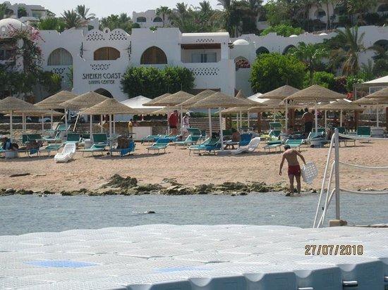Domina Coral Bay Prestige Hotel: bar plage