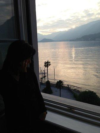 Grand Hotel Villa Serbelloni: dalla finestra della camera
