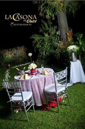 Foto de la casona del chuzo ibagu cena rom ntica en el - La casona del jardin ...