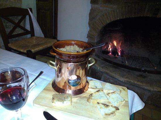 La Taverna dei Briganti: paté di cinghiale