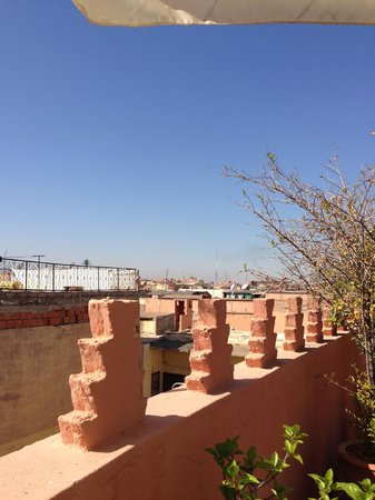 Riad Sable Chaud: Terrace