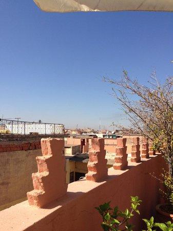 Riad Sable Chaud : Terrace