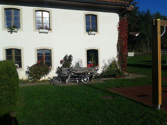 Le Bemont Youth Hostel : Garden