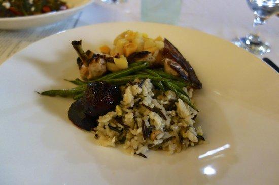 Wheelhouse Restaurant: Pheasant Breast
