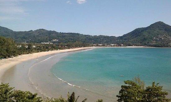 Kamala Beach Resort (a Sunprime Resort): Strand direkt am Hotel