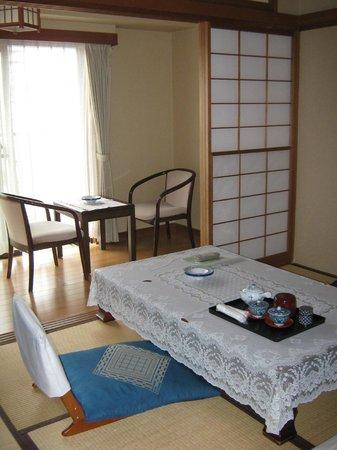 Ito Dai-ichi Hotel Tanuki-no-sato : номер в японском стиле
