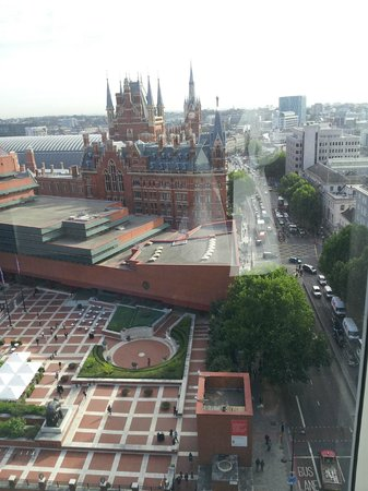 Pullman London St Pancras Hotel: view