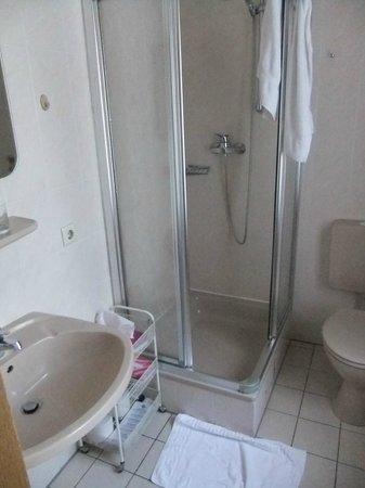 Hotel Zum Wilden Schwein : Dusche