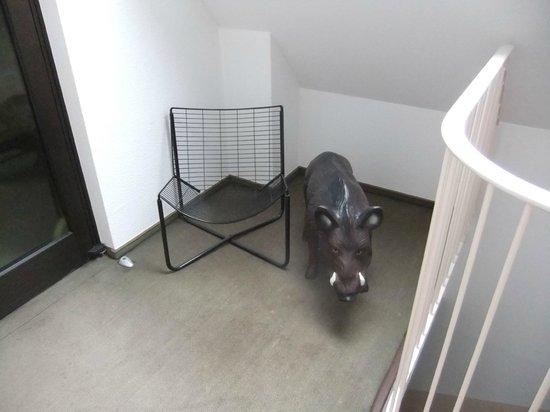 Hotel Zum Wilden Schwein : In der 3. Etage