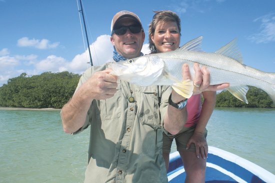 Punta Allen, México: Fly Fishing for a great Snook at Ascension Bay Mexico