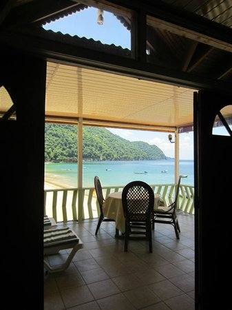 Naturalist Beach Resort: View from inside room