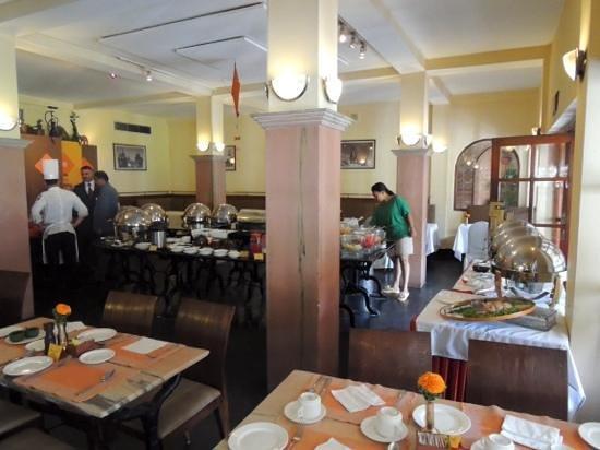 Shangri-La Hotel Kathmandu: Breakfast Ready....
