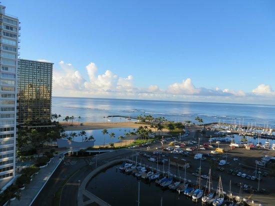 The Modern Honolulu: View from lanai