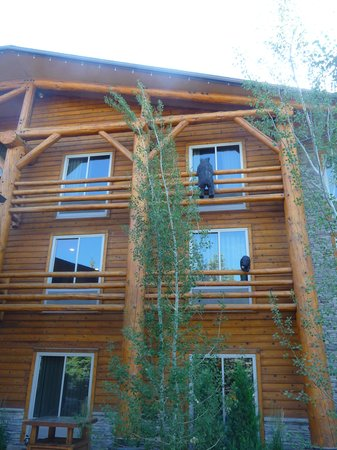 The Lodge at Jackson Hole: La facade de l'hôtel