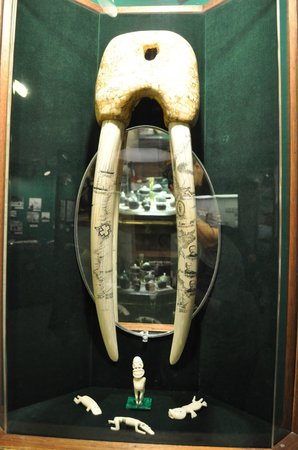 "Corrington's Museum of Alaskan History: lots of ""ivory"""
