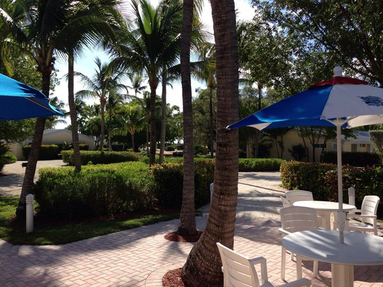 Islander Resort, a Guy Harvey Outpost: Beautifully kept & very spacious grounds