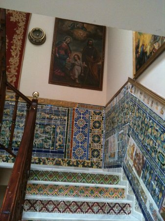 Hotel Convento La Gloria : escalier