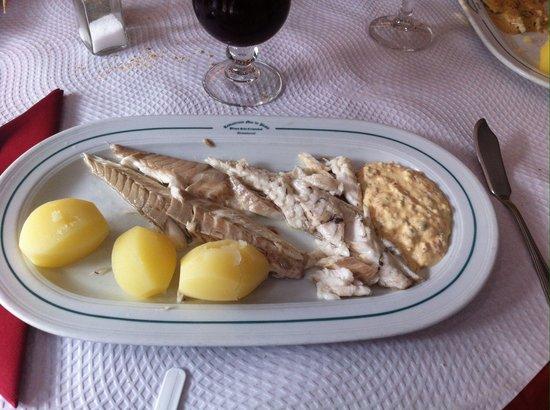 Mar de Plata: Loup de mer au sel