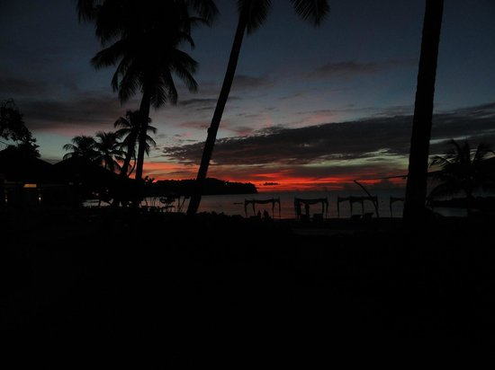 Rendezvous Resort: View from Bar Area at Sunset