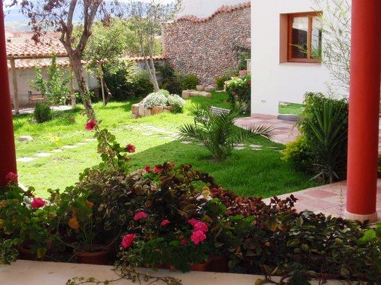 Hotel Villa Antigua: Jardin