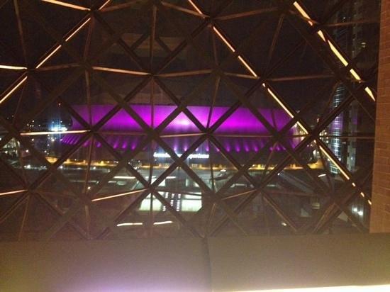 Hyatt Regency New Orleans : view of Superdome from hotel