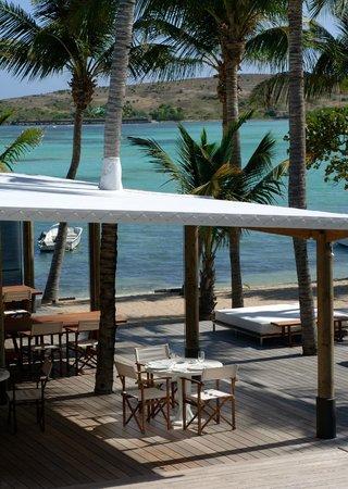 Le Sereno Restaurant: Crystal sea
