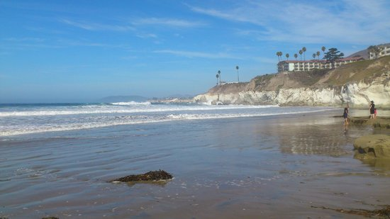 Pismo Lighthouse Suites: Strandbereich
