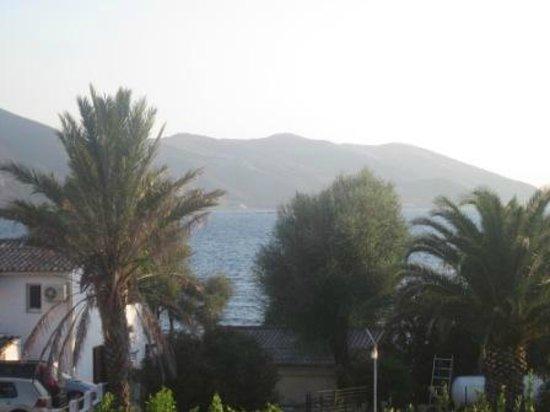 Motel Le Calypso : Vista mare dal terrazzo