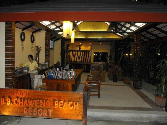 B2@Samui Beach Resort: lobby