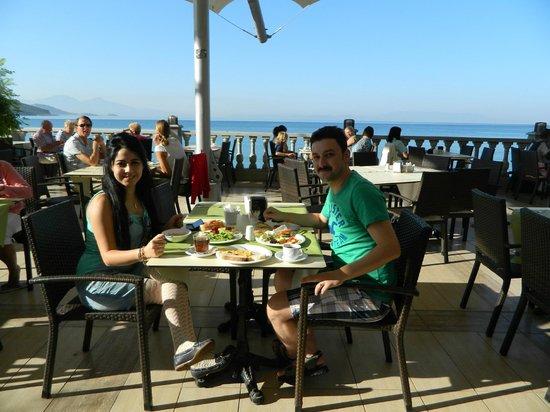 Tusan Beach Resort: kahvaltı