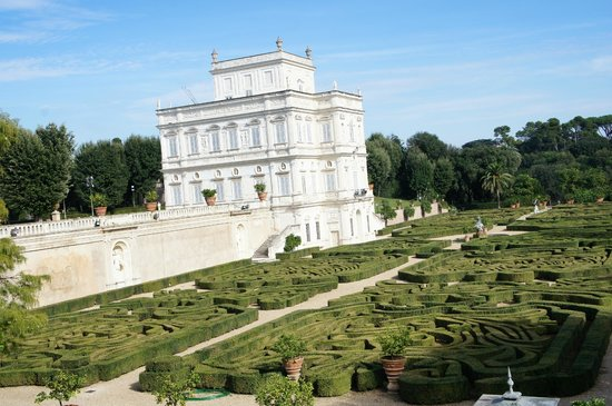 Villa Doria Pamphilj Il giardino segreto