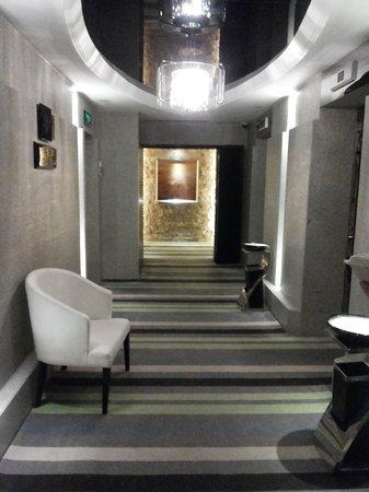Shanghai Tianping Hotel: corridor
