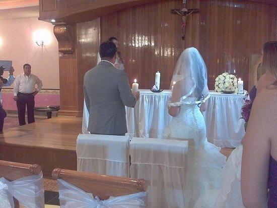 Hotel Portal de Reyes: salón donde hicimos la ceremonia religiosa