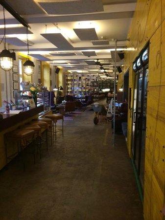 reception picture of superbude hotel hostel st pauli. Black Bedroom Furniture Sets. Home Design Ideas
