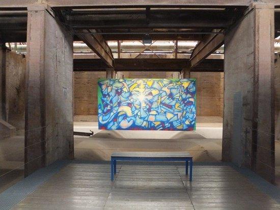 Voelklinger-Huette: Kunst in der Völklinger Hütte