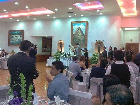 Hotel Portal de Reyes: cena de boda
