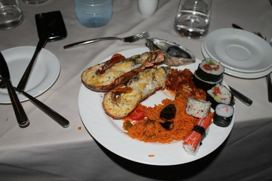 Choices Restaurant : my plate.