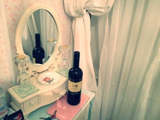 Gwynfryn Bed and Breakfast: rose room