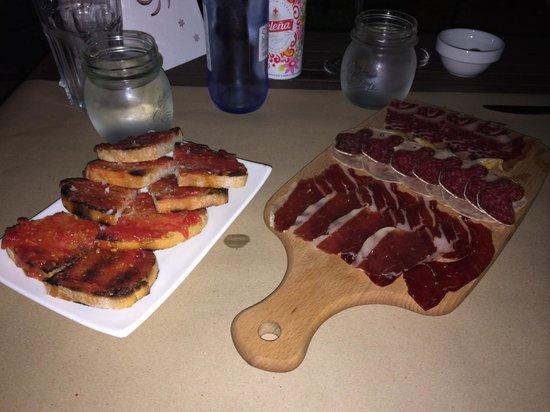 Sa Carboneria: Starter Spanish Cured Meats Platter