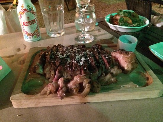 Sa Carboneria: 1kg T-Bone Steak to share