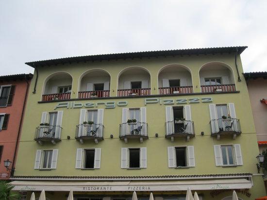 Piazza Ascona Hotel & Restaurants : Hotel Front