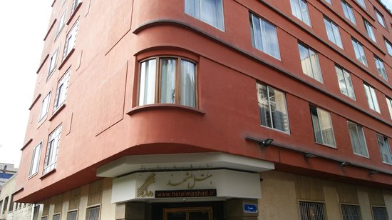 Mashad Hotel: Hotel from the street