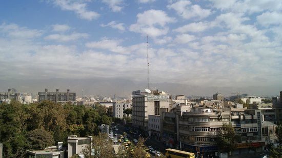 Mashad Hotel: North Tehran view from room