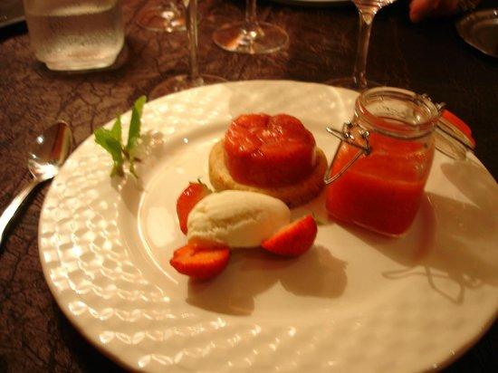 Au Croissant: dessert